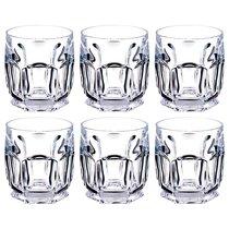 Набор стаканов из 6 шт. SAFARI 250 МЛ ВЫСОТА=9,5 СМ (КОР=1Набор.) - Crystalite Bohemia