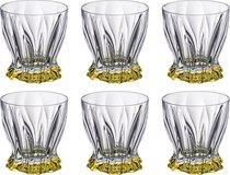 Набор стаканов ДЛЯ ВИСКИ из 6 шт. PLANTICA 280 мл ВЫСОТА 10 см - Aurum-Crystal