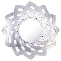 Зеркало Настенное Swiss Home Диаметр 60 см Цвет Серебро - Arts & Crafts