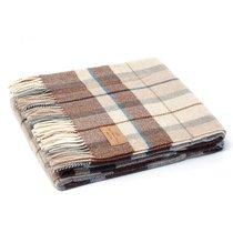 Плед Lucca 1, цвет бежевый/коричневый, 150 x 200 - Italian Woollen Treasures