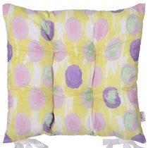"""Подушка на стул """"Flutter"""", P505-8367/3, 41х41 см, цвет фиолетовый - Apolena"""