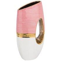 Ваза Декоративная Розовая Коллекция 15,5x8,5см Высота 30 см - Hebei Grinding Wheel Factory