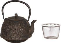 Заварочный Чайник Чугунный С Эмалированным Покрытием Внутри 1400 Мл - NINGBO GOURMET
