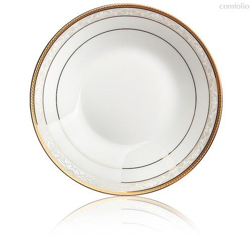 "Тарелка суповая 19см ""Хэмпшир, золотой кант"" - Noritake"