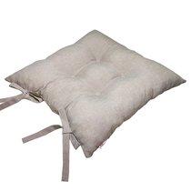 "Подушка на стул ""Капучино"", P705-Z107/1, 41х41 см, цвет сепия - Altali"