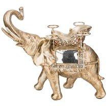 Подставка Для Бутылки И Фужеров Бронзовый Слон 43X29X41, 5 см - Shantou Lisheng