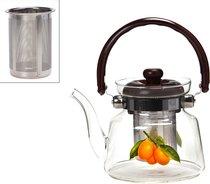 Заварочный чайник Agness 800 мл С Фильтром Жаропрочное Стекло - Dalian