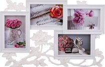 Фоторамка-Коллаж 44x28x2 см На 4 Фото 10x15 см - Polite Crafts&Gifts