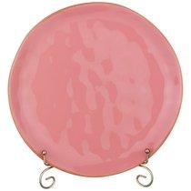 Тарелка Обеденная Concerto Диаметр 26 см Розовый, цвет розовый - Hunan Huawei