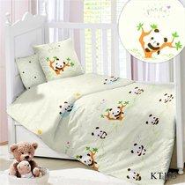 CДA-10-028/KT-103 Пандочки КПБ Детский в кроватку Сатин АльВиТек - АльВиТек