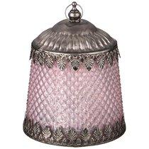 Светильник С Led-Подсветкой И Металл.Элементами, Д 11,5 см, В 14,5 см, Розовый - Comego