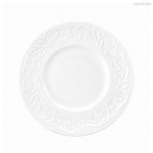"""Набор тарелок десертных Lenox """"Чистый опал, рельеф"""" 18см, 4шт - Lenox"""