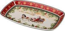 Блюдо Christmas Collection 30x19 См Высота 4 См - Jinding