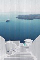 Санторини 60х90 см, 60x90 см - Dom Korleone