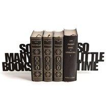Держатель для книг So many!, цвет черный - Balvi