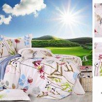Комплект постельного белья П-35, цвет белый, Семейный - Valtery