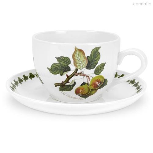 """Чашка для завтрака с блюдцем Portmeirion """"Помона. Груша"""" 500мл - Portmeirion"""