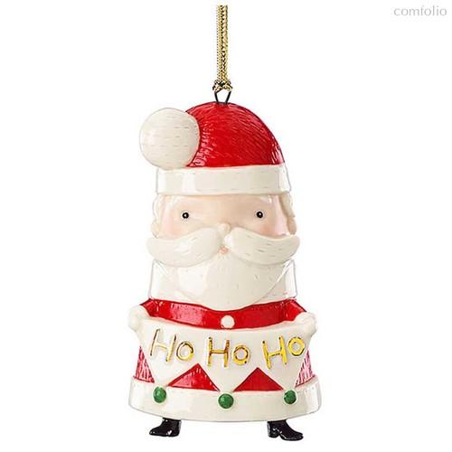 """Украшение новогоднее Lenox """"Рождество,друзья.Дед Мороз"""" 9см - Lenox"""