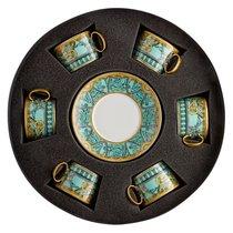 """Набор чашек чайных с блюдцами Rosenthal Versace """"Ла Скала"""" 200мл, 6шт - Rosenthal"""
