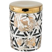 Банка Для Сыпучих Golden Rose 700 мл, Геометрия - Porcelain Manufacturing Factory