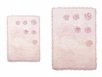 BLOSSOMS PEMBE (розовый) Коврик для ванной, 70x110 - Irya