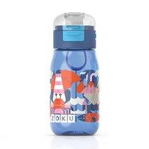 Бутылочка детская с крышкой 475 мл синяя - Zoku