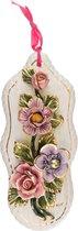 Панно Настенное Цветы 30x13 см. - Ceramiche d'Arte F.L.
