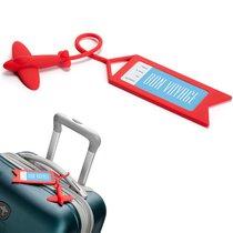 Бирка для багажа Tag me красная - OTOTO
