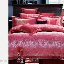 Комплект постельного белья SDS-37, цвет розовый, размер 2-спальный - Famille