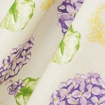 Ткань лонета Гортензия ширина 280 см, 2002, цвет сиреневый - Altali