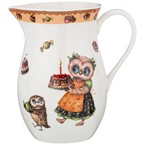 Кувшин Совушки 1300мл, 19см - Shunxiang Porcelain