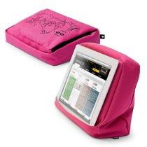 Подушка-подставка с карманом для планшета Hitech 2 розовая - Bosign