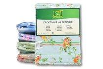 ПР-Р-160 Простыня на резинке 160х200 ткань бязь - АльВиТек