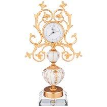 Часы Настольные Arcadia28x14 см Высота 50 см Циферблат 9,5 см - Caroline (Artigianato Ceramico)