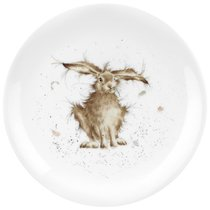 """Тарелка закусочная Royal Worcester """"Забавная фауна"""",""""Заяц"""" 20см, костяной фарфор - Royal Worcester"""