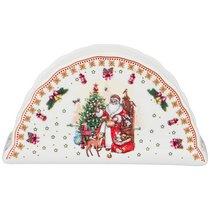 Салфетница Christmas Collection 14x7 см Высота 7,5 см - Cheerful Porcelain