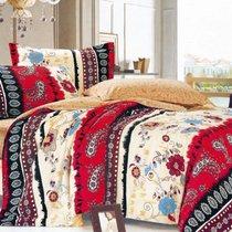 Комплект постельного белья С-208, цвет бежевый, размер 1.5-спальный - Valtery