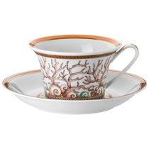 """Чашка чайная с блюдцем 220мл """"Морские звезды"""" - Rosenthal"""