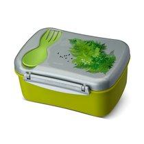 Ланч-бокс с охлаждающим элементом Wisdom N'ice Box™ Nature, цвет зеленый - Carl Oscar