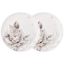 Набор Из 2 Тарелок Закусочных Lefard White Flower 20,5 см - Jinding