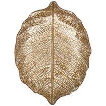 Блюдо Leaf Gold 21 см Без Упаковки - Akcam