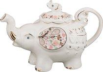 Заварочный чайник Слоник 600 мл 22x10.5x15 см - Hebei Grinding Wheel Factory