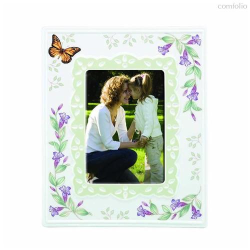"""Рамка для фото Lenox """"Бабочки на лугу"""" 13х18см - Lenox"""
