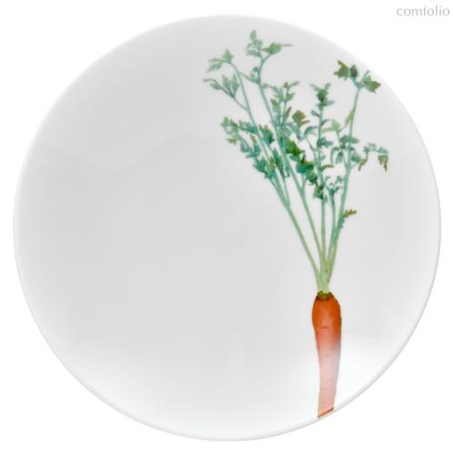 """Тарелка для пасты Noritake""""Овощной букет"""" """"Морковка"""" 23см, 23 см - Noritake"""