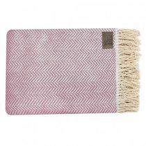 Плед BLANKET, цвет розовый, 130 x 180 - Erteks Tekstil