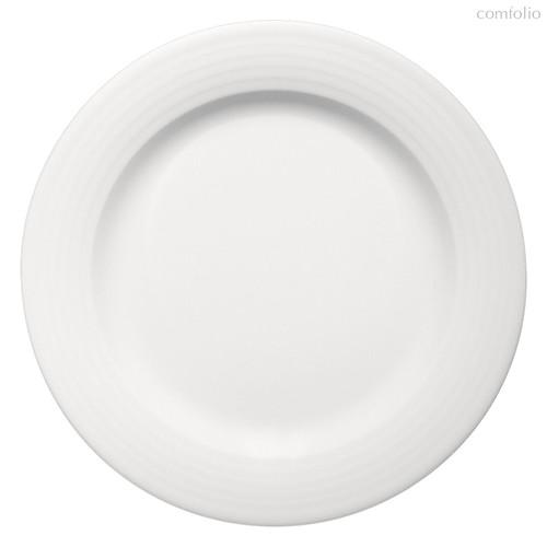 Тарелка круглая 25 см, плоская c бортом, Dialog - Bauscher