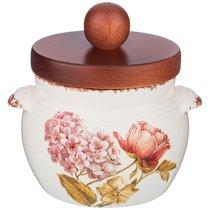 Банка Для Сыпучих Продуктов Lcs Flower Garden 470 мл 10,5 см Высота 13 см Без Упаковки - Ceramica Cuore