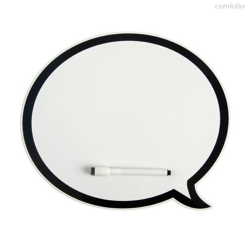 Магнитная доска с маркером Talk, цвет белый - Balvi