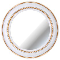 Зеркало Настенное Lovely Home Диаметр 52 см Цвет Белый - Arts & Crafts