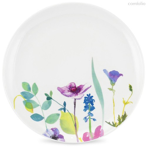 "Тарелка обеденная Portmeirion ""Водный сад"" 27,5см - Portmeirion"